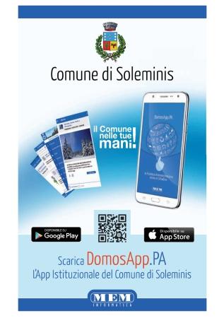 Presentazione App Istitizionale del Comune di Soleminis